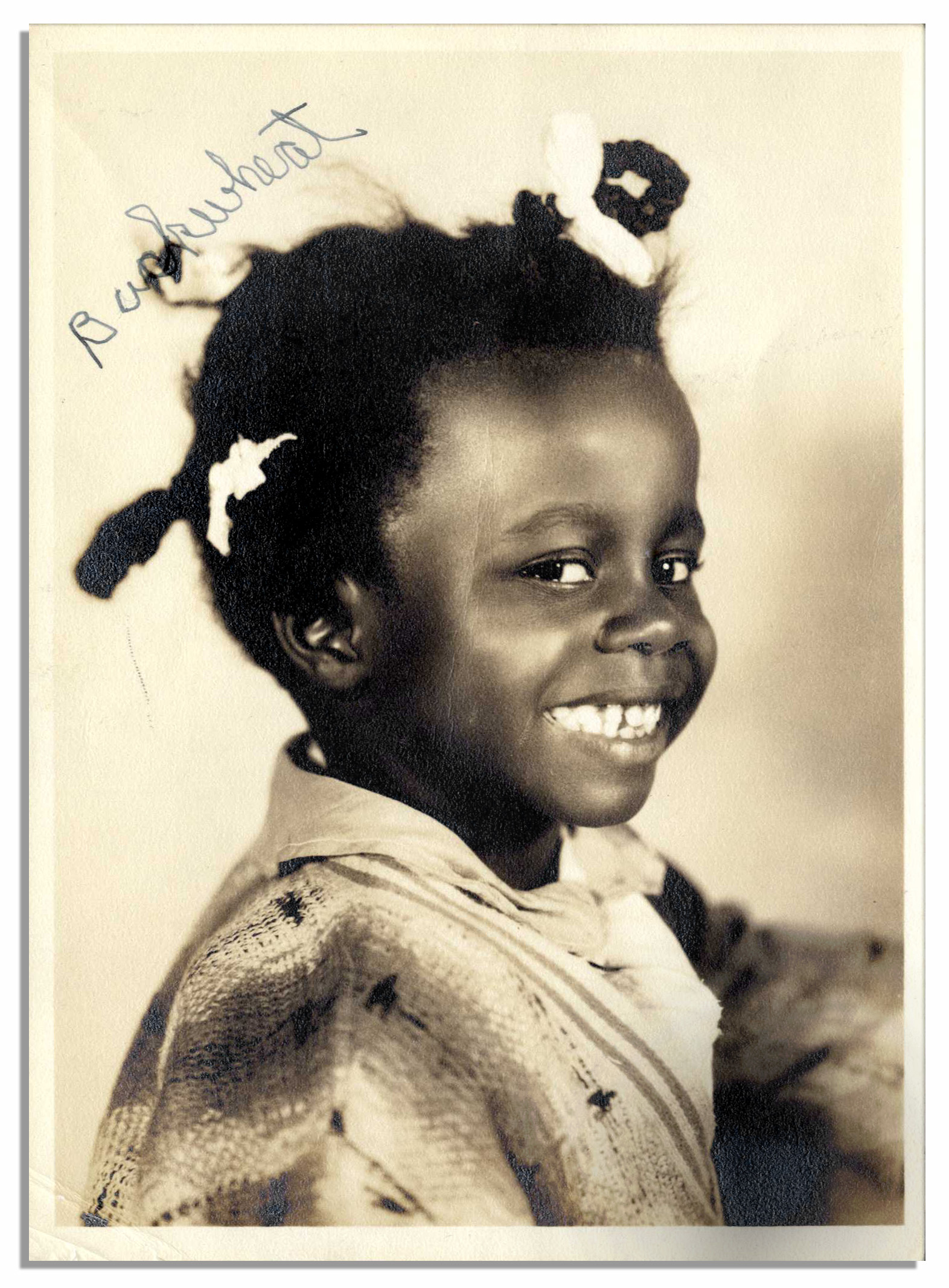 Our Gang Child Actor William Thomas Photo Signed as Buckwheat 1572x2134