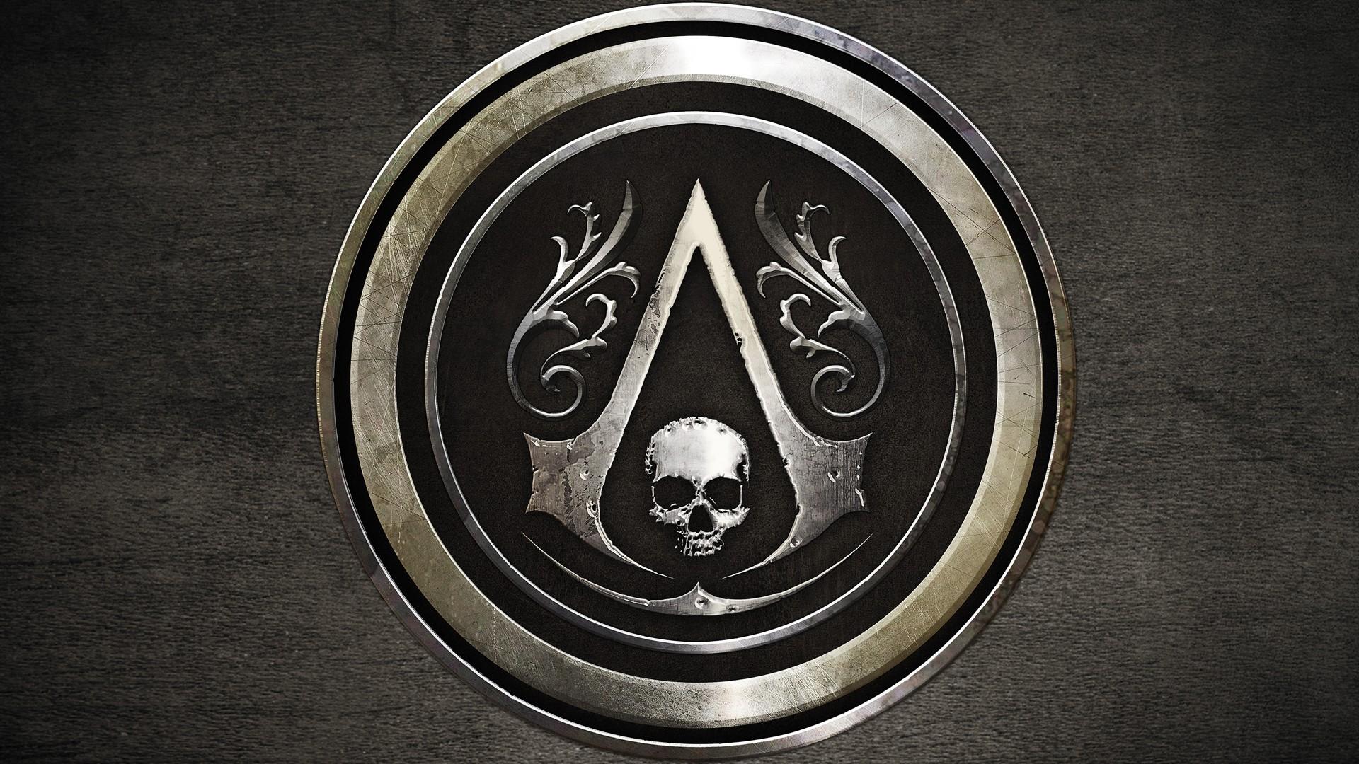 Free Download 47 Assassins Creed Black Flag Logo Hd Wallpaper
