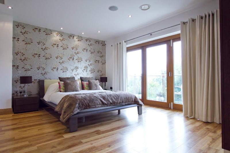 Feature Wall Wallpaper Bedroom Design Ideas Photos Inspiration 800x533