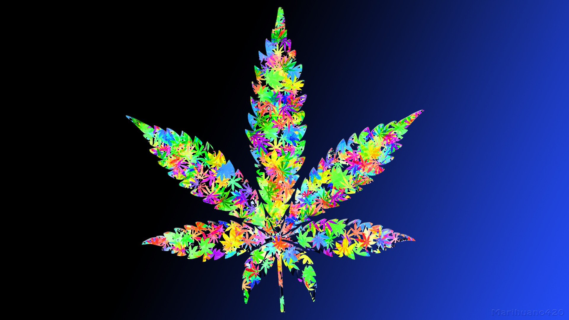 leaves marijuana weeds wallpaper 1920x1080 341187 WallpaperUP 1920x1080