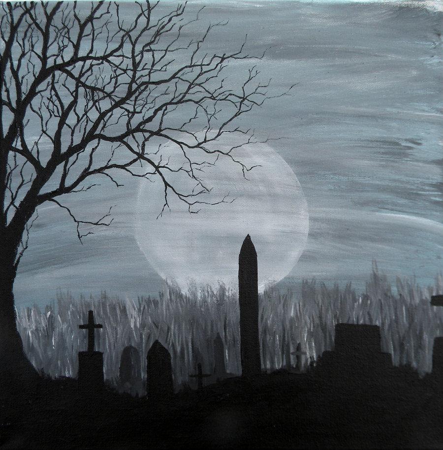 45 Creepy Graveyard Wallpaper On Wallpapersafari