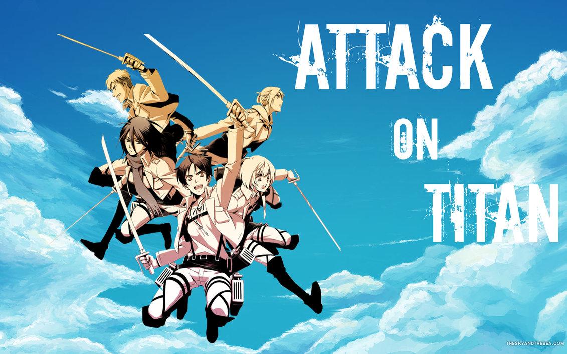 Attack on Titan wallpaper 2 by StellaTheCat12 1131x707