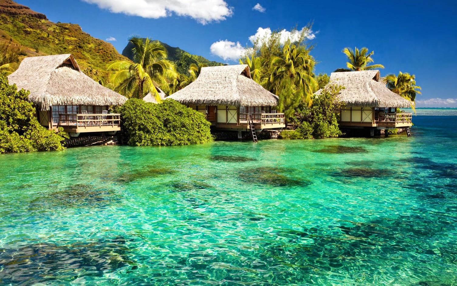 Beautiful Beach House Wallpapers Florida Beach Huts Desktop 1504x940