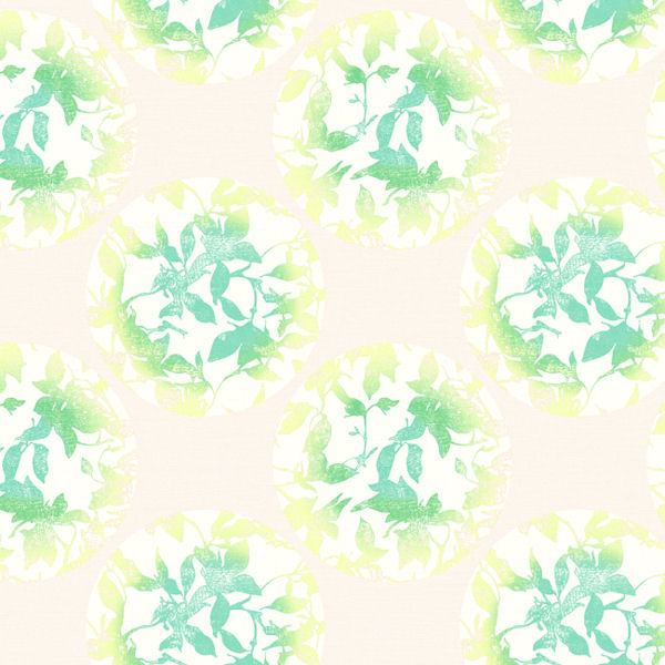 Yellow and Green Earthbound Wallpaper   Wall Sticker Outlet 600x600