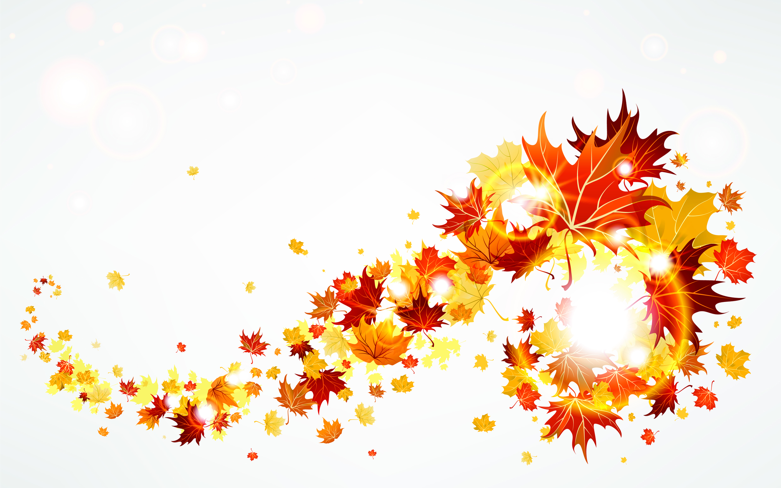 Autumn Leaves Abstract 2560x1600 5862 HD Wallpaper Res 2560x1600 2560x1600