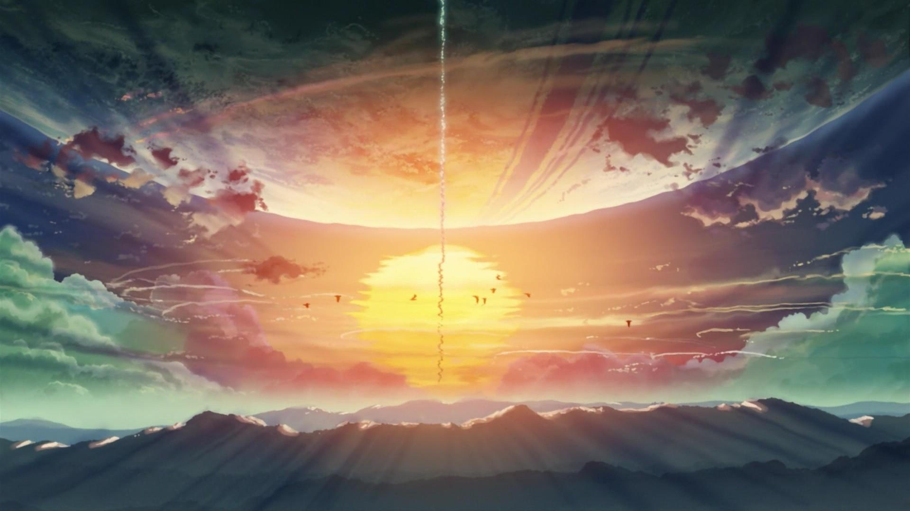 Free Download 5 Centimeters Per Second Backgrounds 3840x2160 For