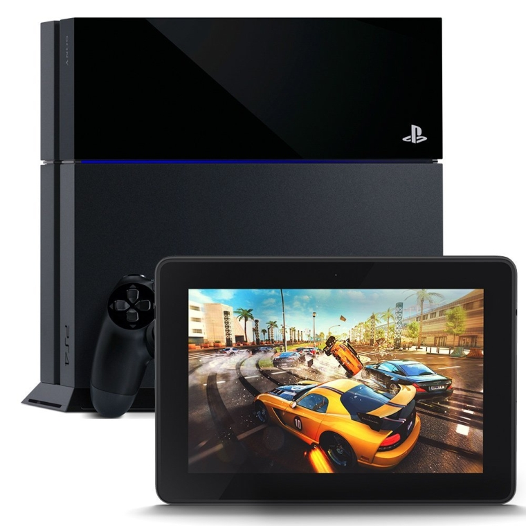 PlayStation 4 and Kindle Fire HDX 7 HDX Display Wi Fi 16 GB 760x760