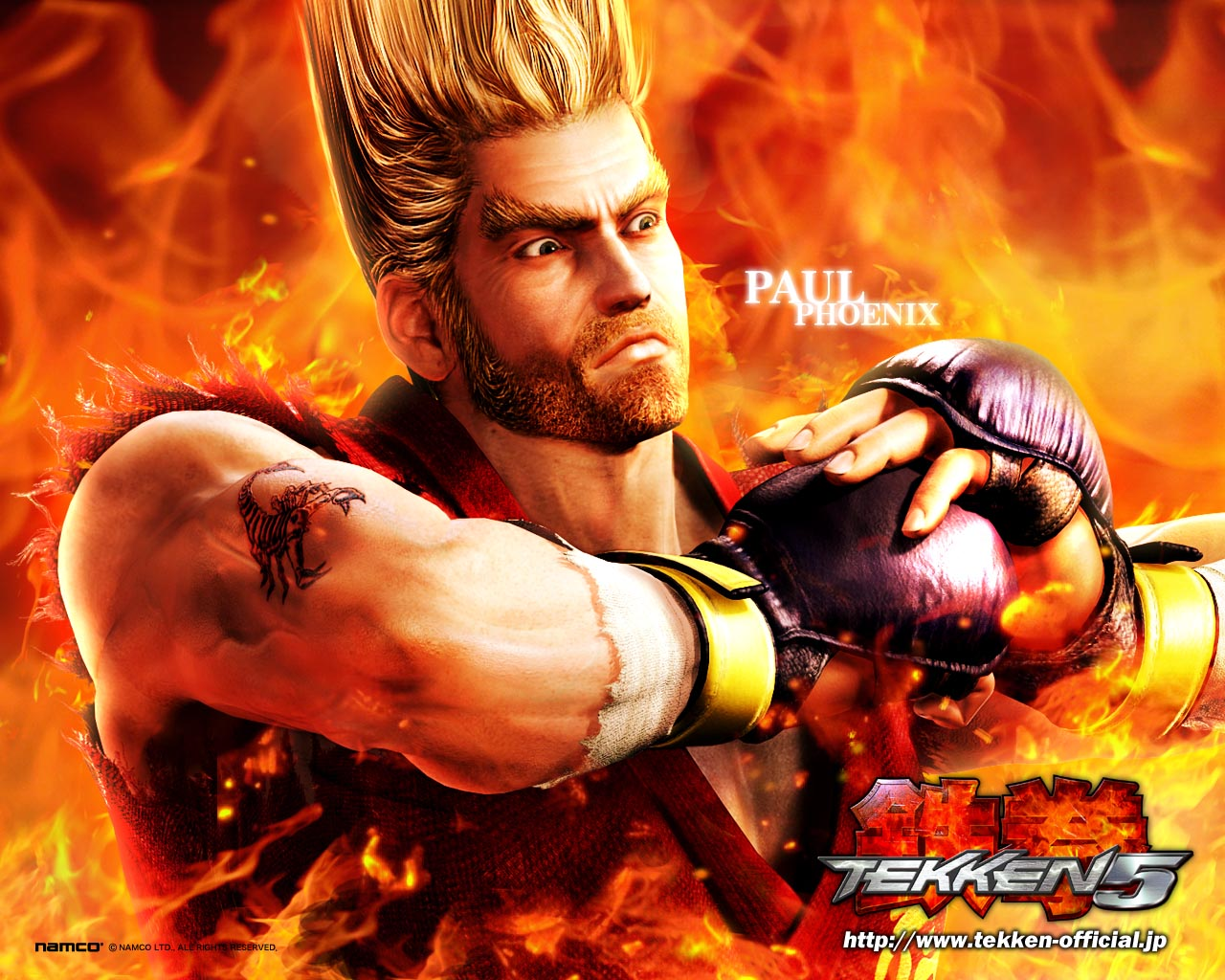 HD wallpapers Tekken 5 Game HD Wallpapers all characters in 1280x1024 1280x1024