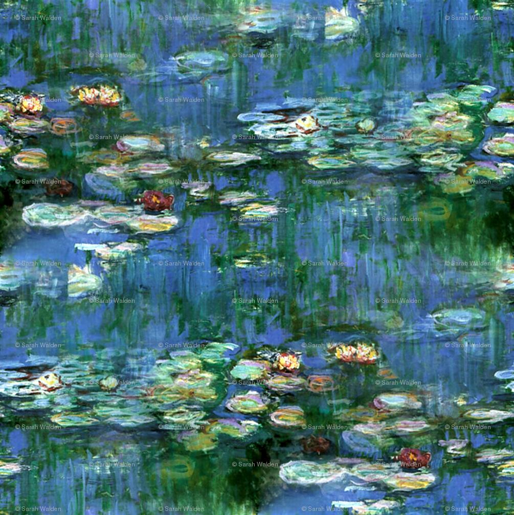 47 Monet Water Lilies Wallpaper On Wallpapersafari