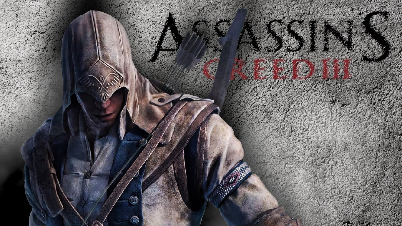 The Elderly Gamer Fanmade Assassins Creed 3 Wallpaper 1366x768