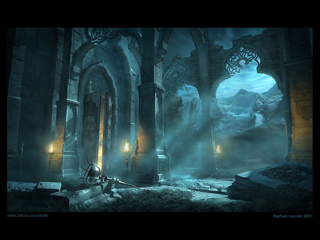 3D art wallpapers digital fantasy artist desktop background 1024x768