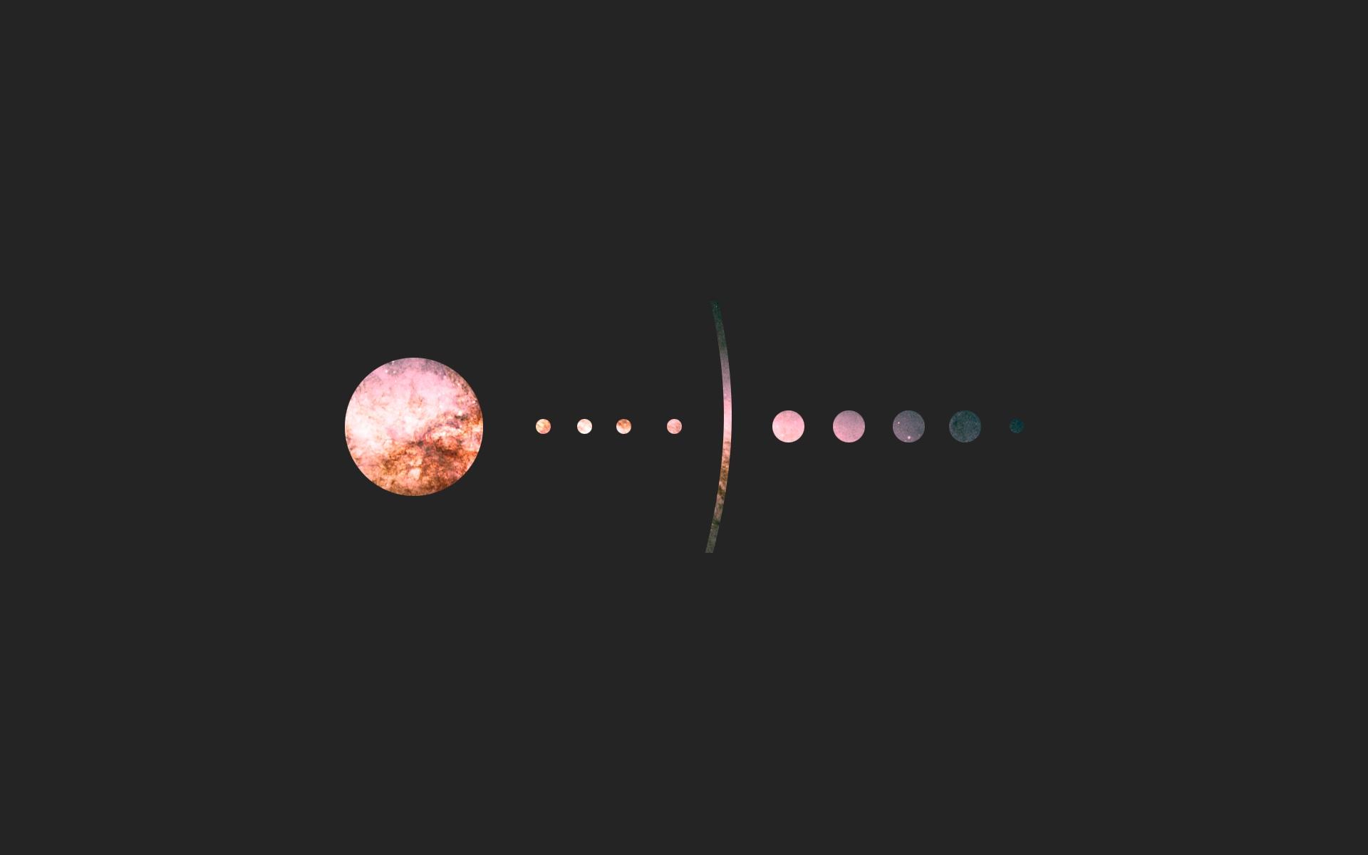 Minimal Solar System HD desktop wallpaper : Widescreen : High ...