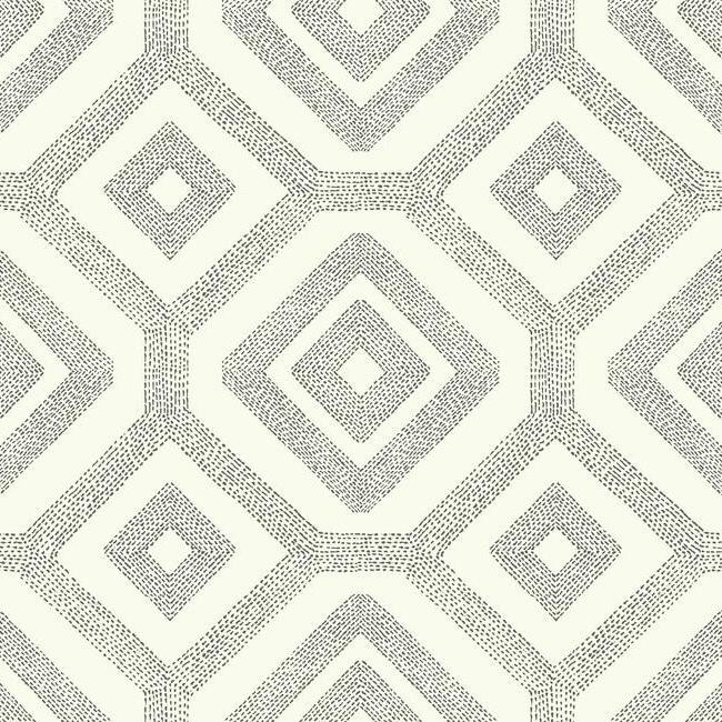New Wallpaper Designs French Knot Wallpaper in Grey and White design 650x650