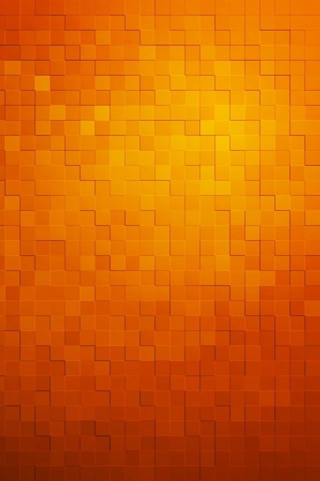 Orange Orange Blocks Wallpaper shades of orange Orange 640x960
