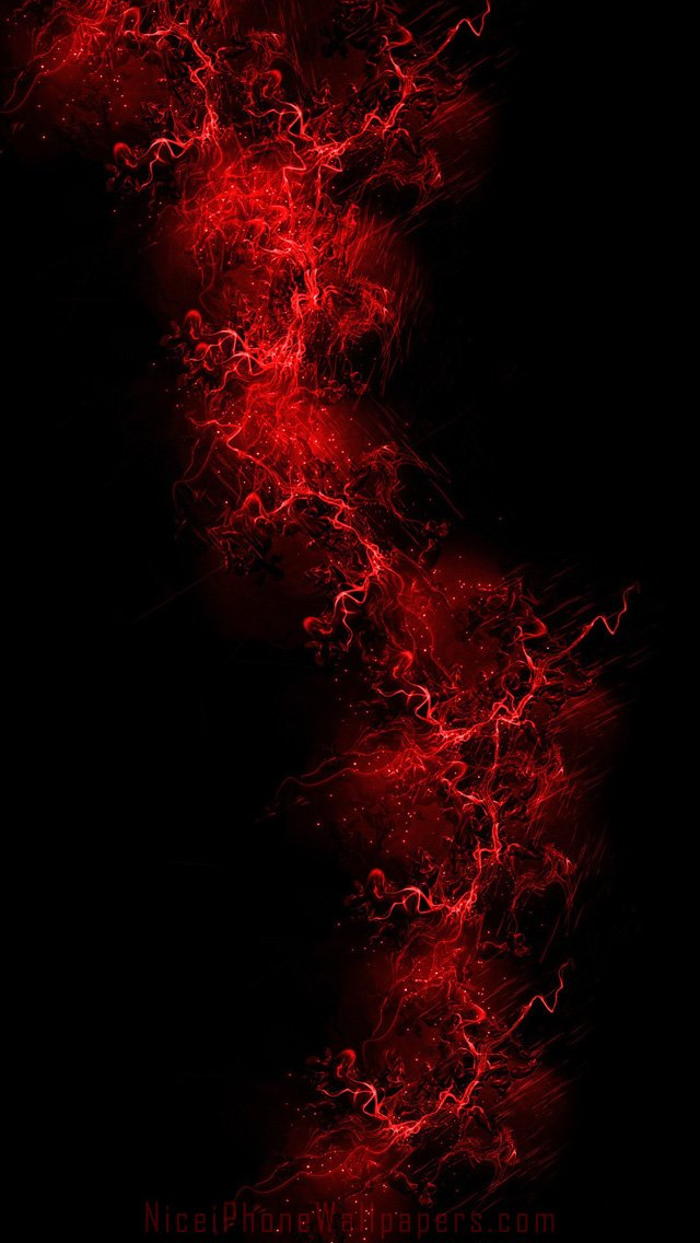 Black and red iphone wallpaper wallpapersafari for Black red wallpaper
