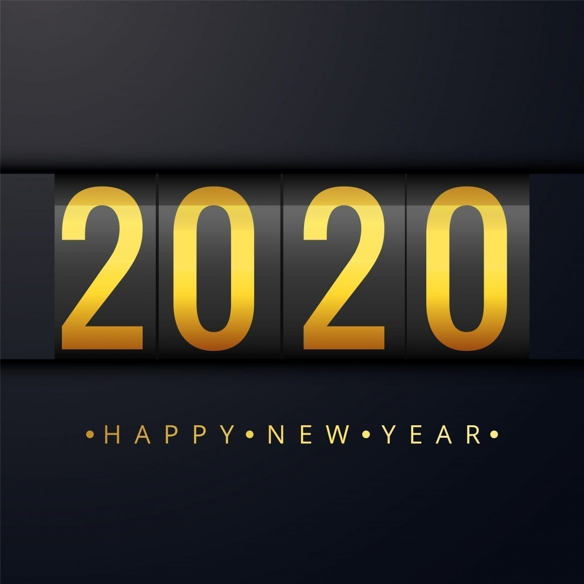 Happy New Year 2020 Wallpapers HD 1170x1170