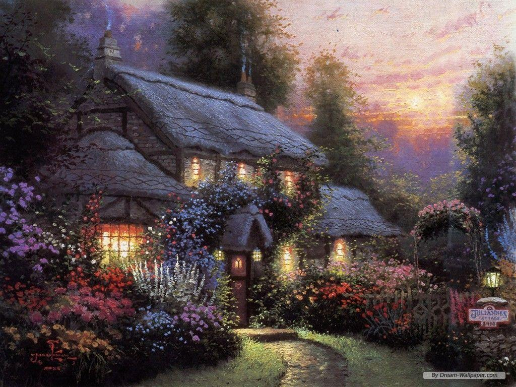 Thomas Kinkade Wallpapers For Desktop 1024x768