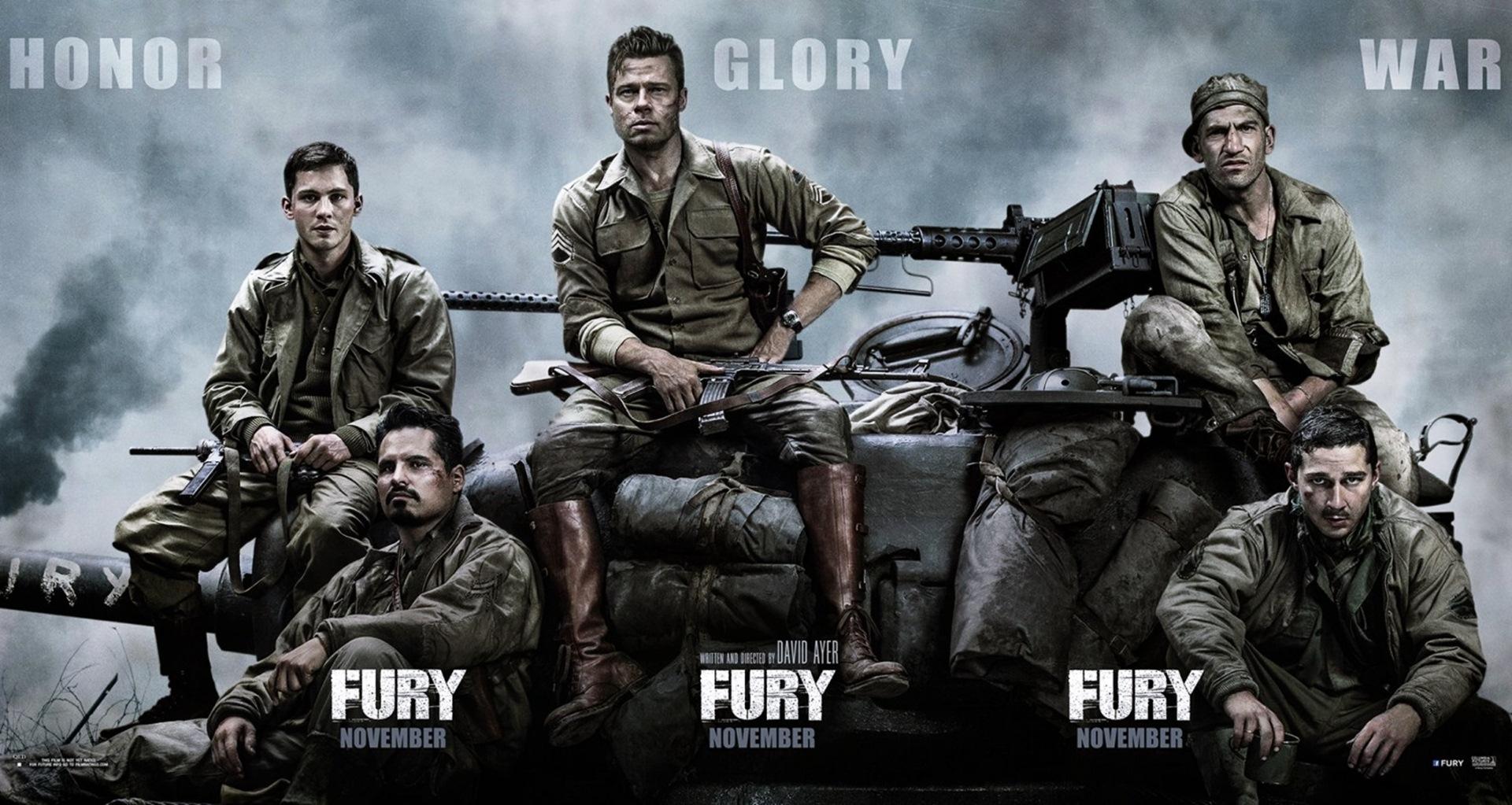 Fury Movie Movie HD Wallpapers 1920x1023