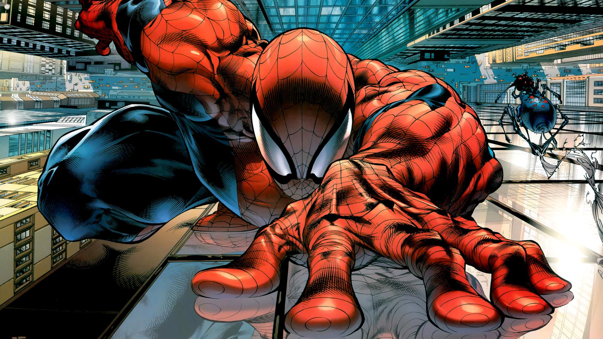 Spider man hd wallpapers 1080p wallpapersafari - Marvel android wallpaper hd ...