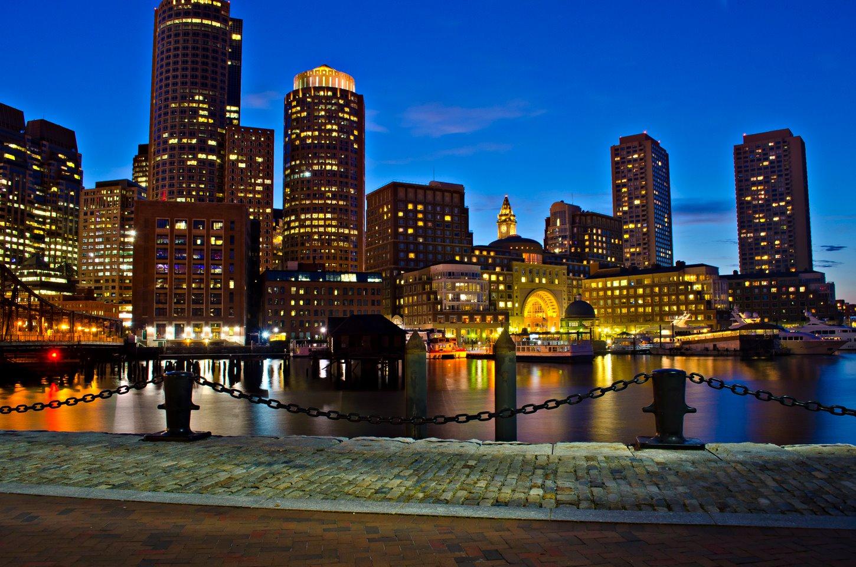 boston skyline wallpaper wallpapersafari