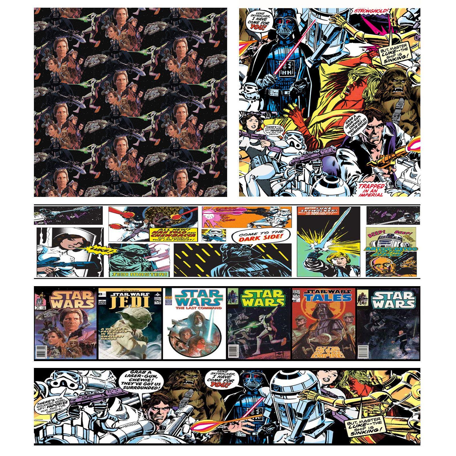 Star Wars Bedroom Wallpaper Borders Wallpapersafari