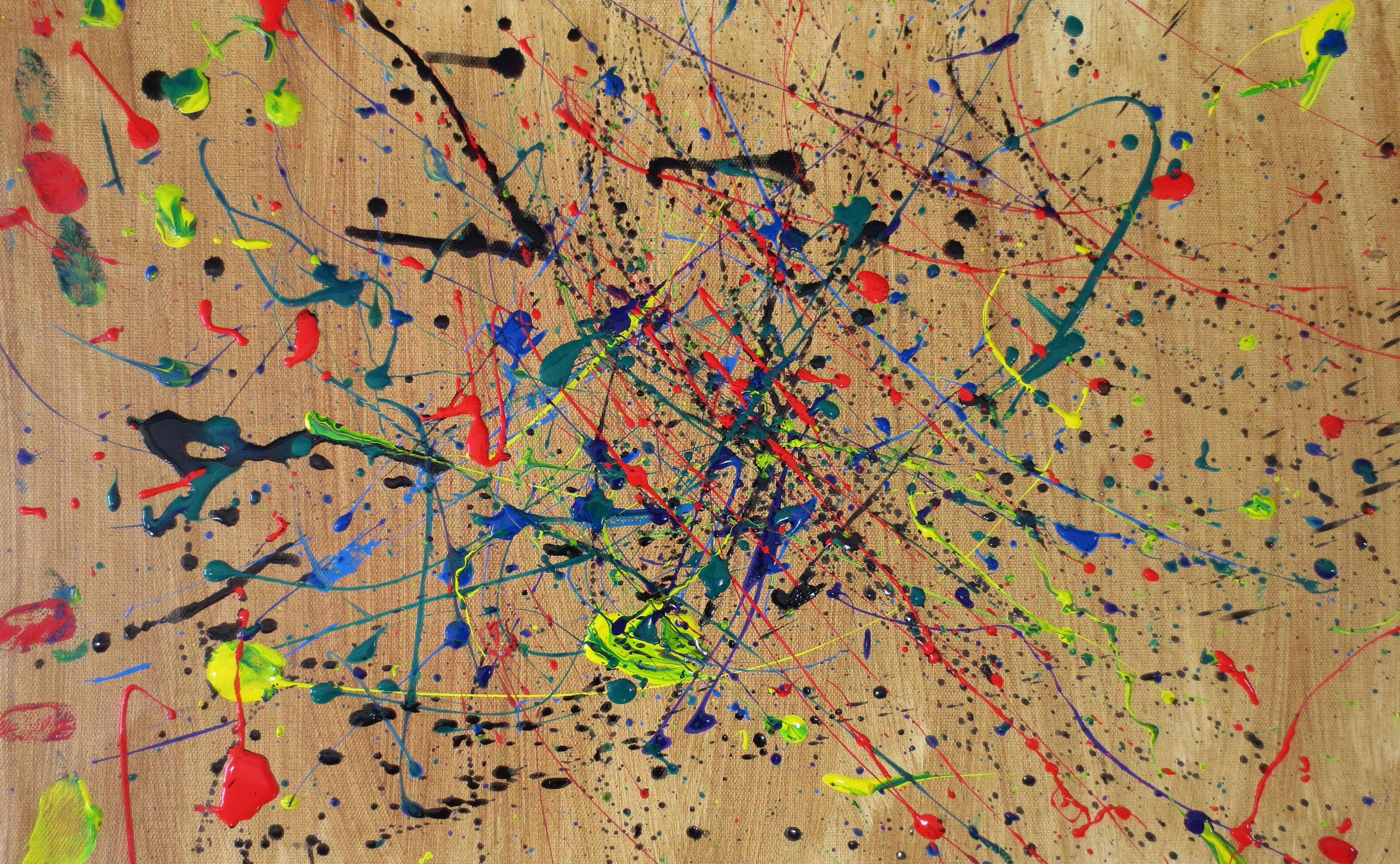 Jacksonpollock Art Background Images Android Wallpapers 4185x2583