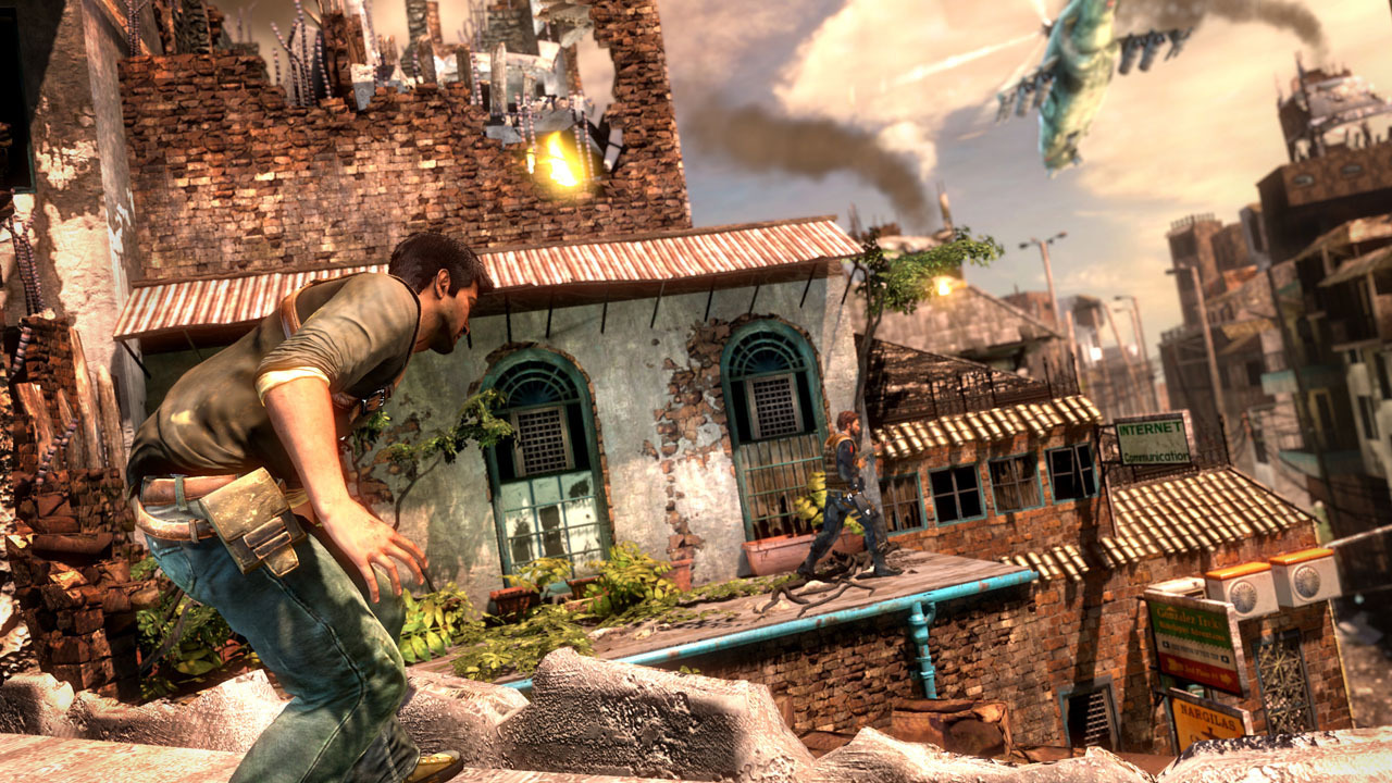 Uncharted 2   Death From Behind Wallpapers 1280x720