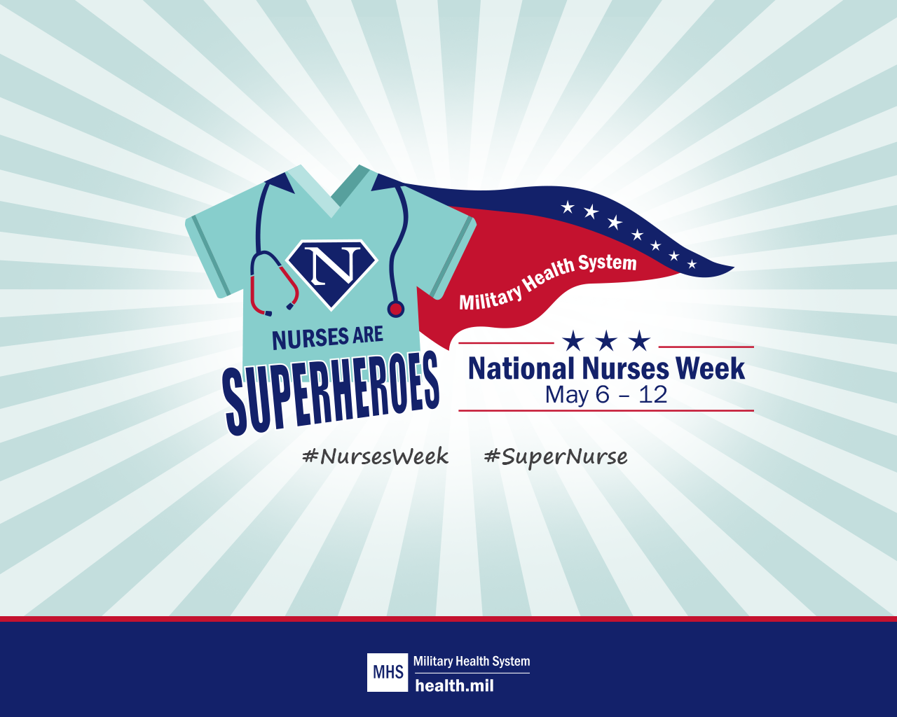 2019 National Nurses Week Screensaver Healthmil 1280x1024