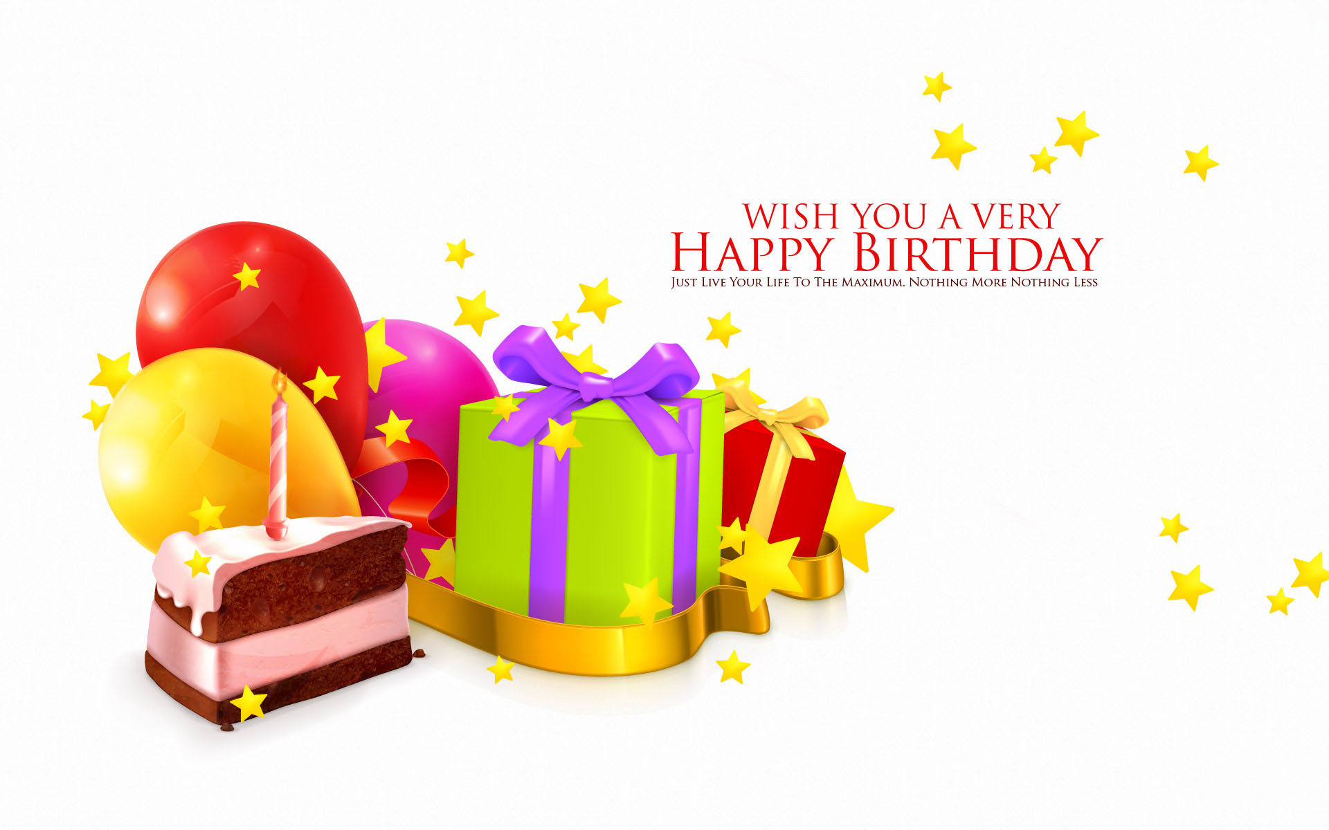 Happy Birthday Wallpaper HD Pictures 1920x1200