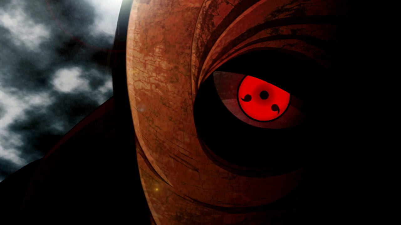 Sharingan Live Wallpaper 1   TobiObito 1280x720