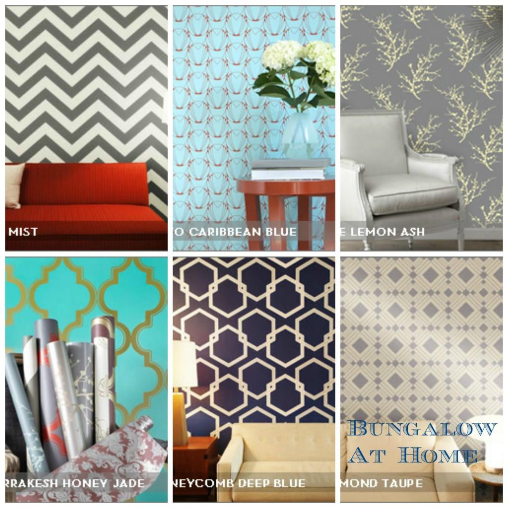 sherwin williams removable wallpaper wallpapersafari. Black Bedroom Furniture Sets. Home Design Ideas