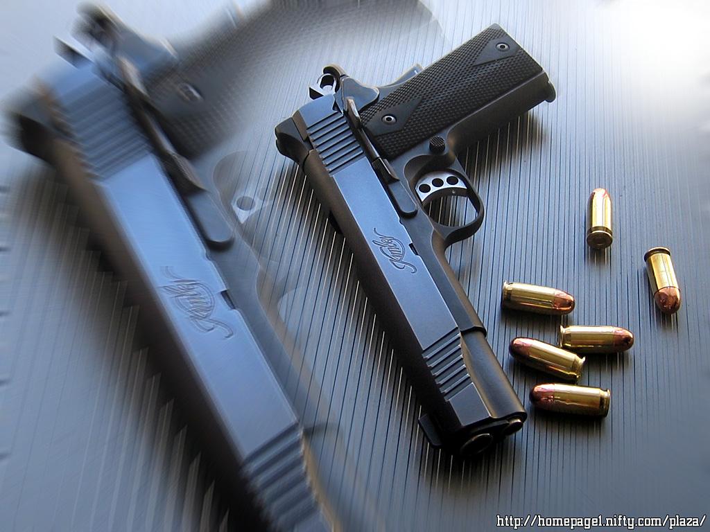 Wallpaper Kimber Custom Crimson Carry Ii Gun Guns Holsters Ammo 1024x768