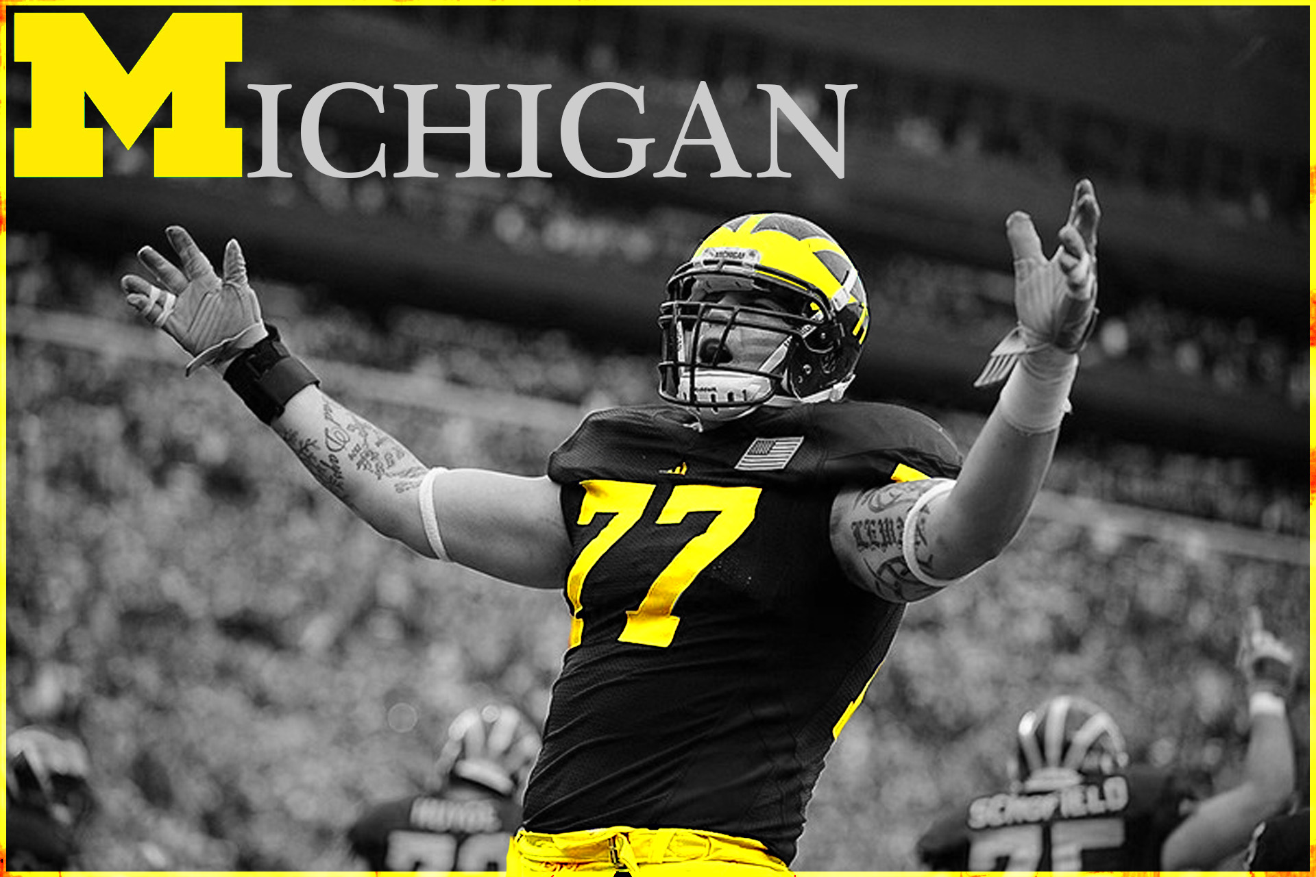 university of michigan football wallpaper 2013