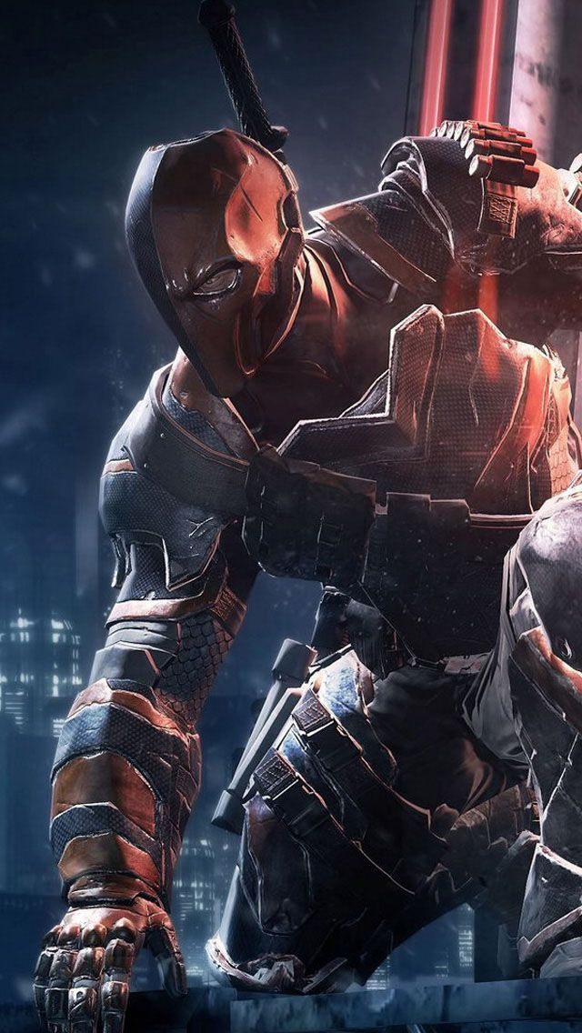 Deathstroke IPhone Wallpaper Pinterest 640x1136