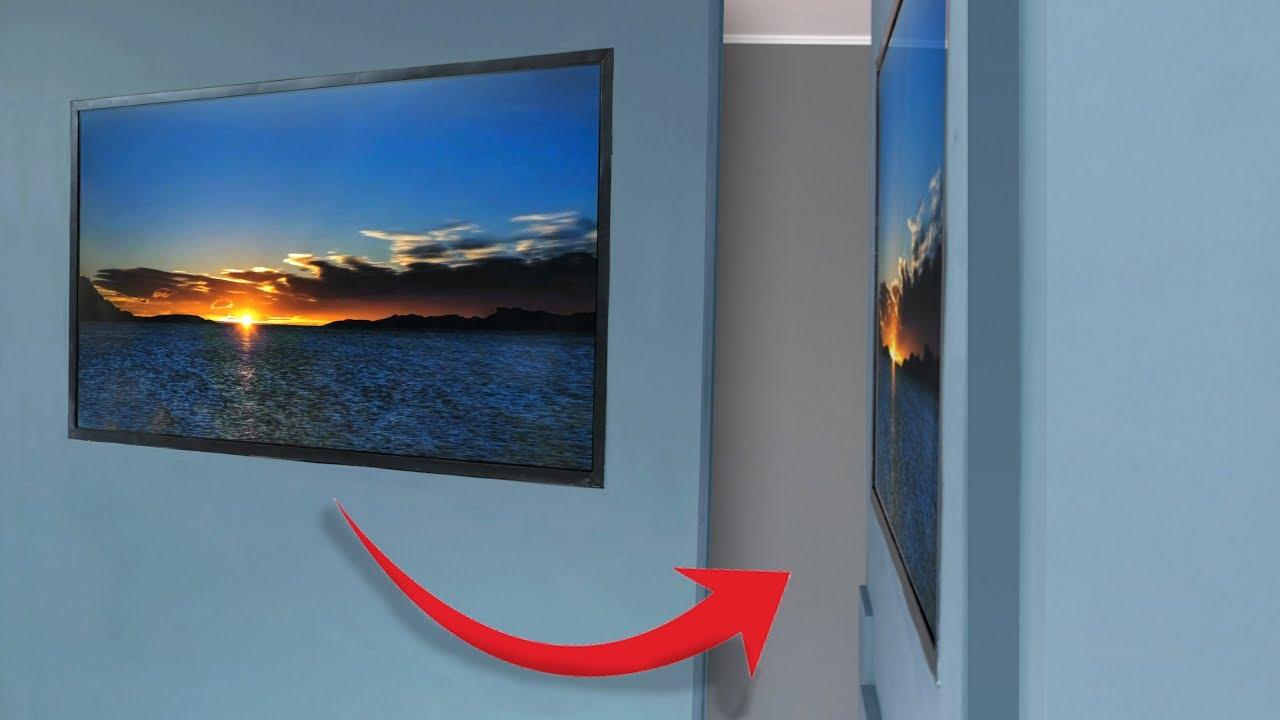 Building a homemade wallpaper TV 1280x720