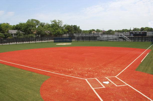 Softball Field Backgrounds Field sunset softball 610x404