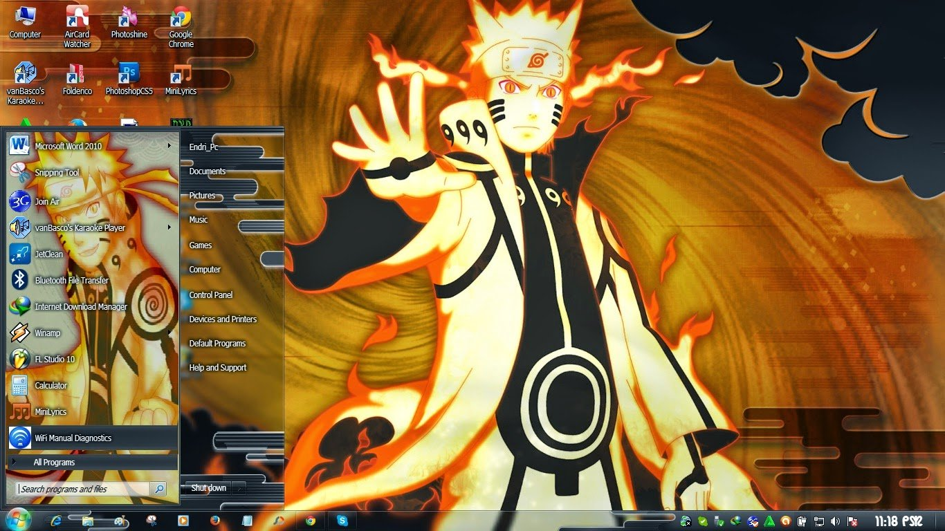 Wallpaper Naruto Untuk Windows 7