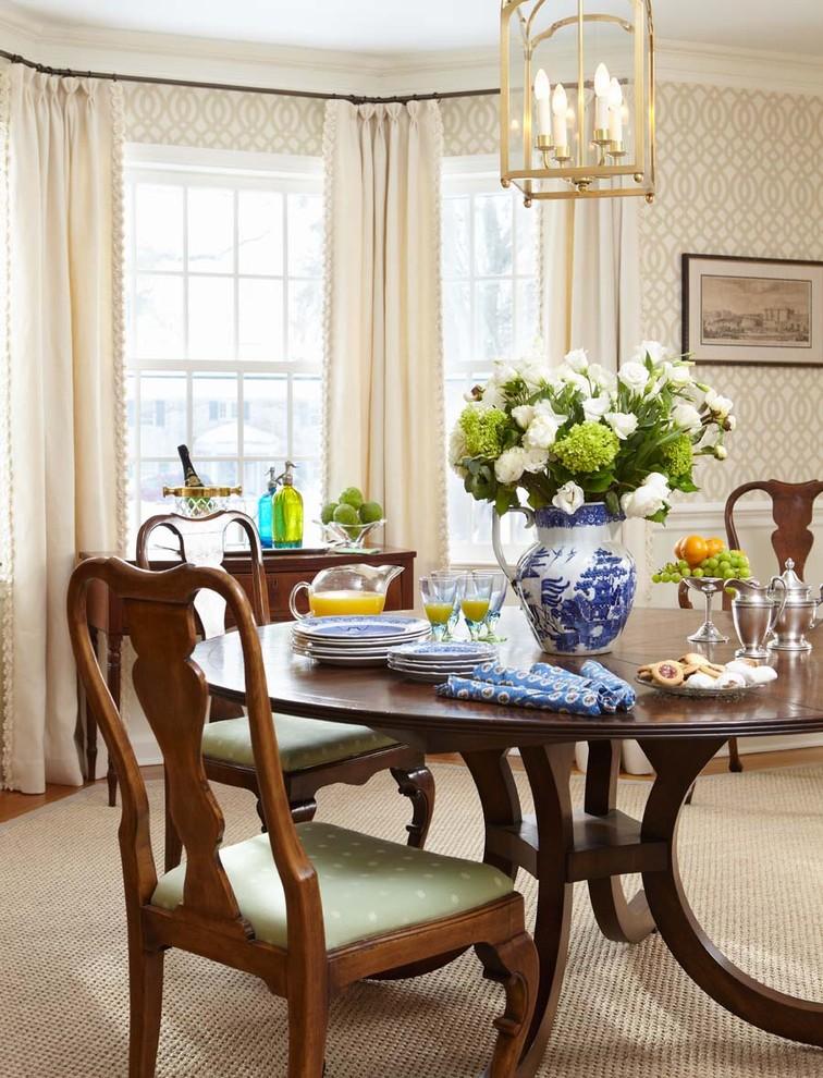Wallpaper Ballard Designs Decorating Ideas Gallery in Dining Room 756x990