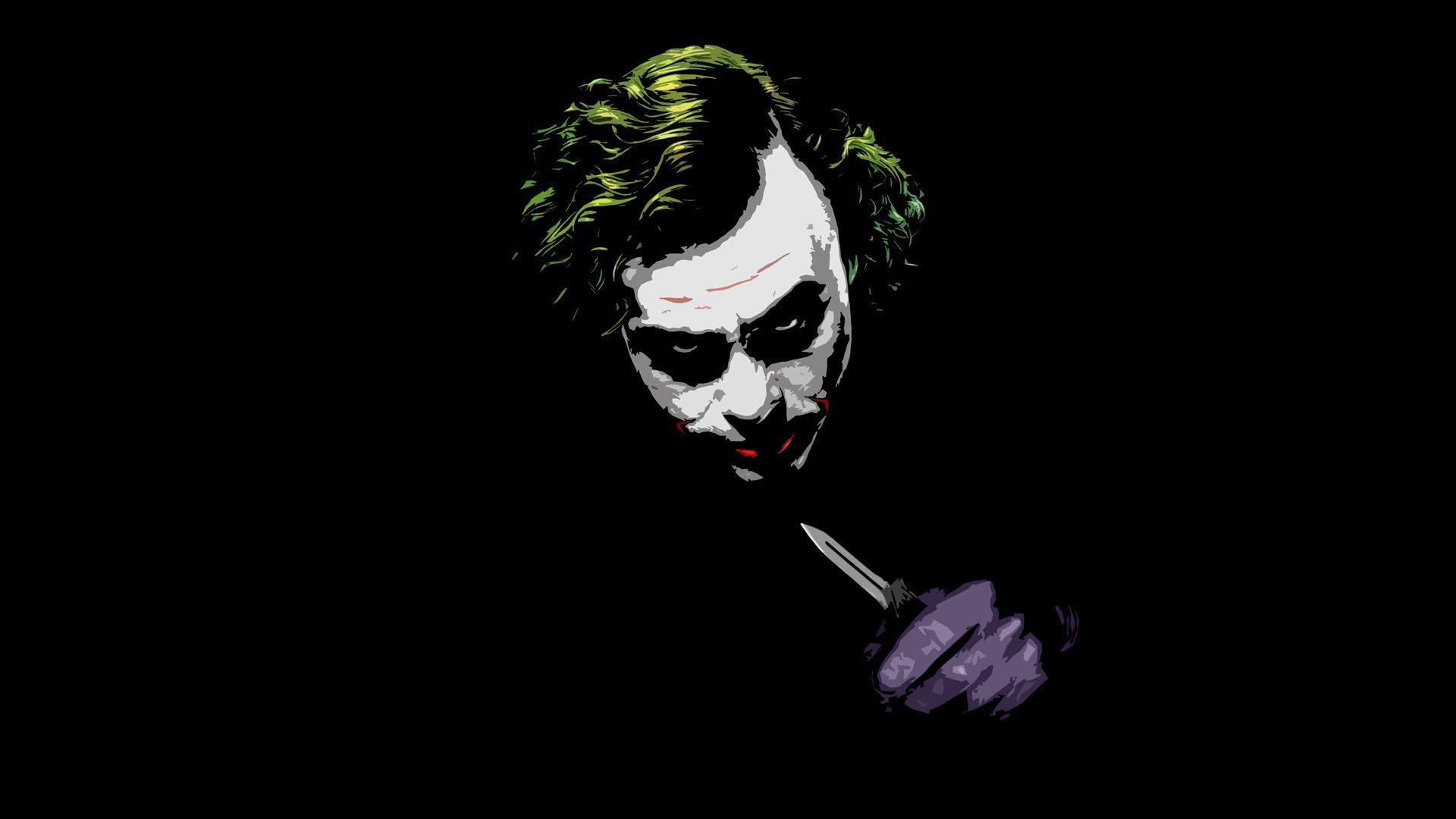 The Joker   The Dark Knight HD Appealing Wallpaper 1920x1080