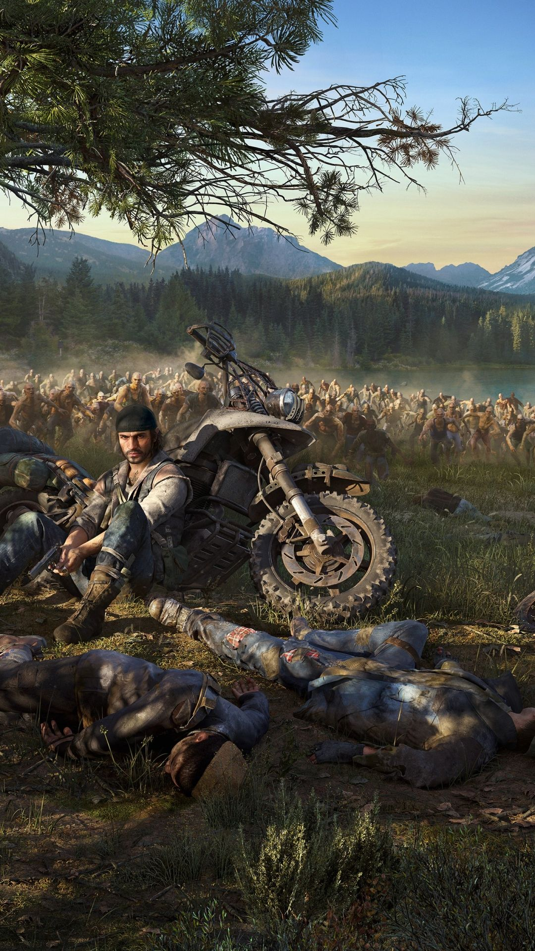 Video Game Days Gone 1080x1920 Mobile Wallpaper Jogos ps4 1080x1920