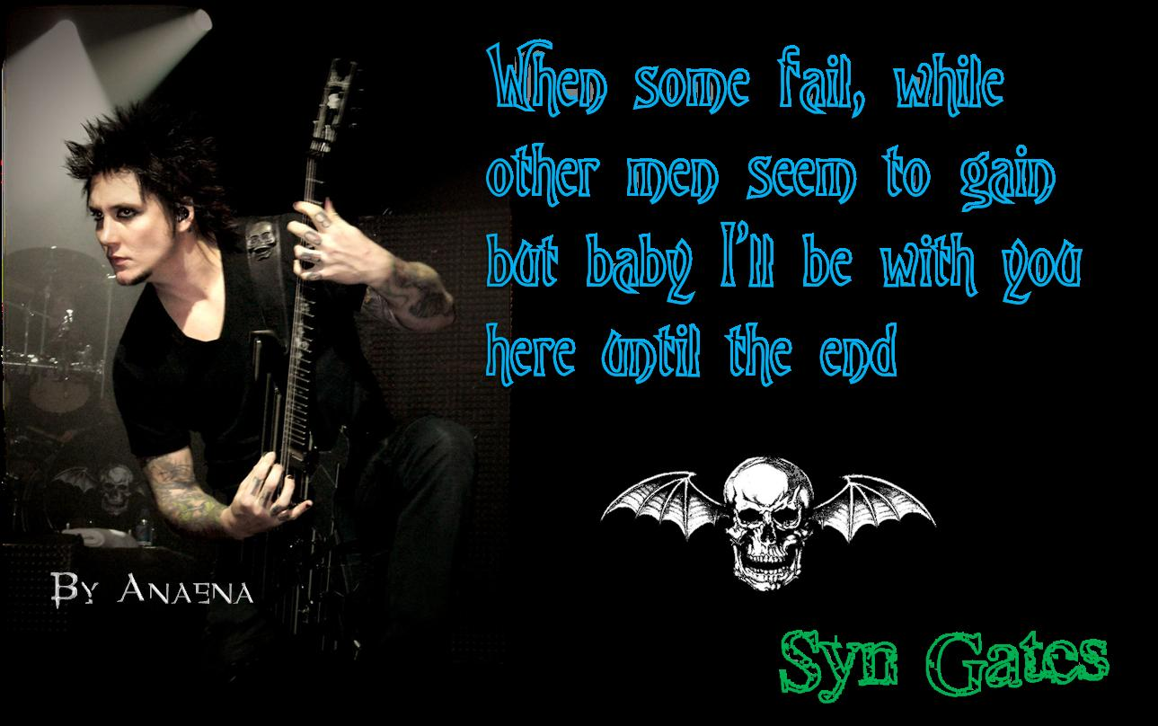Download Wallpaper Avenged Sevenfold 1289x808