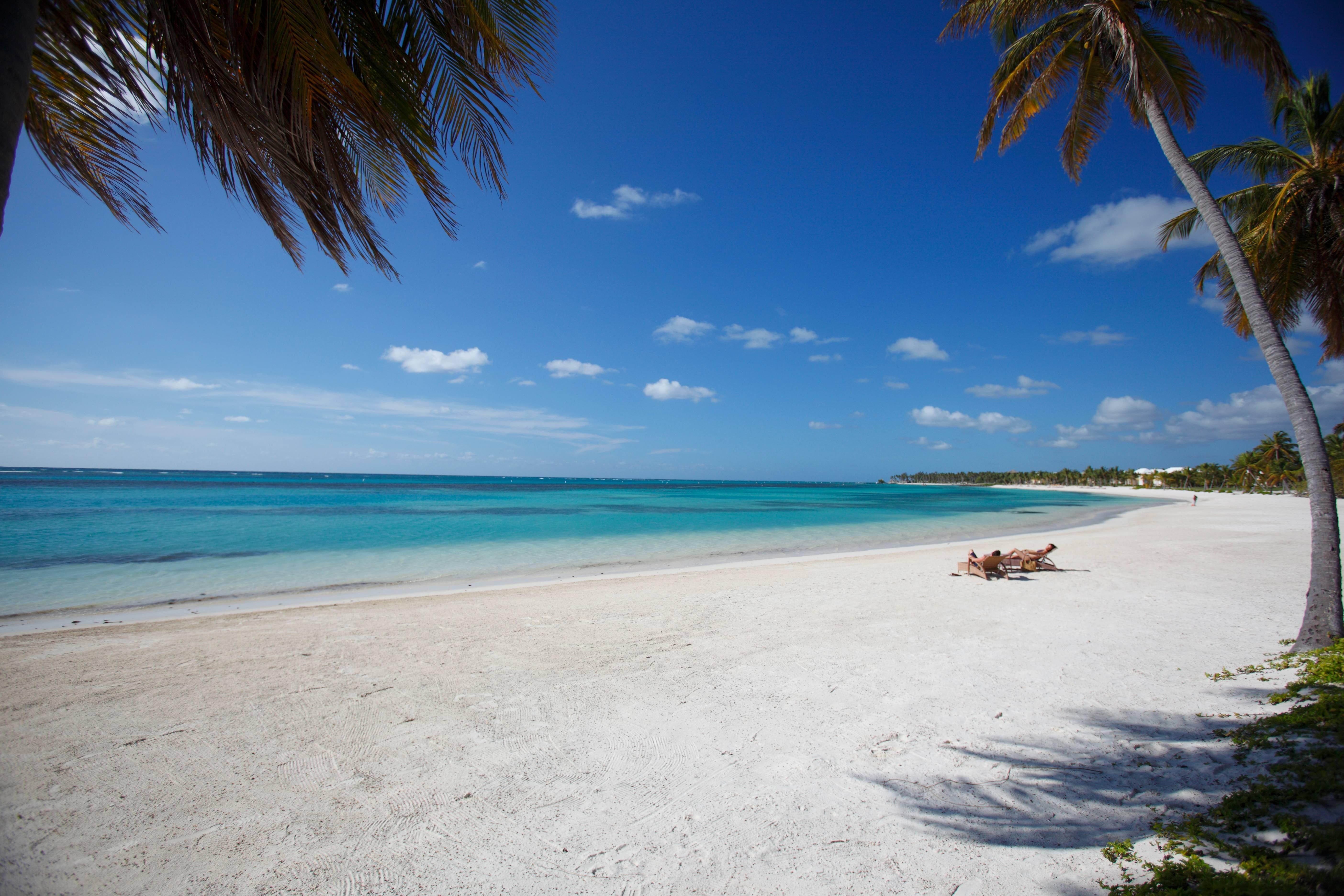 Wallpapers Backgrounds   Bavaro Beach Punta Cana Dominican Republic 5616x3744