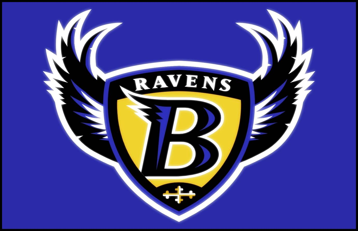 ravens logo wallpapers with gray backgrounds baltimore ravens desktop 1381x891