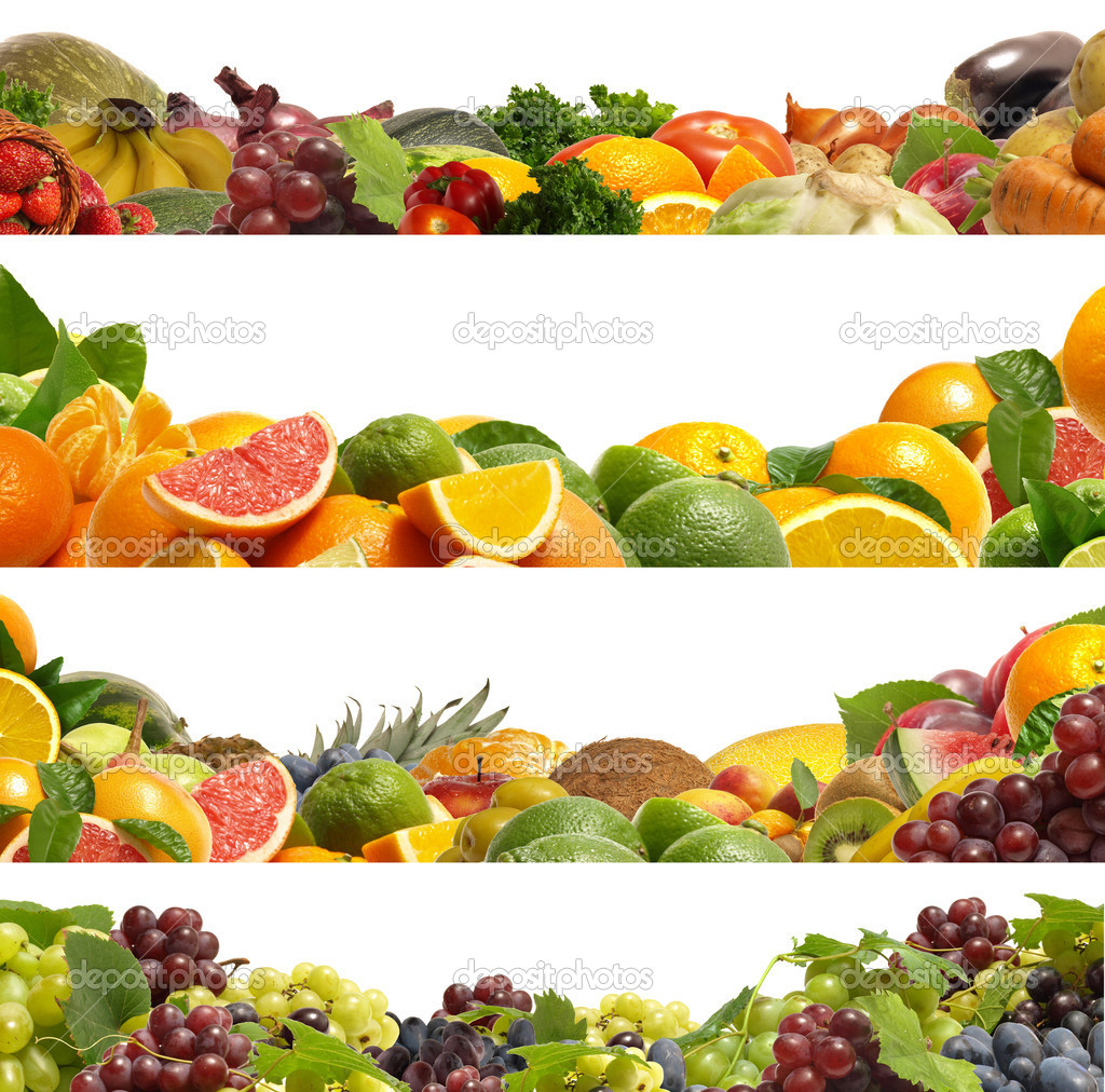Fruit And Vegetable Border httpdepositphotoscom5325633stock 1024x1012