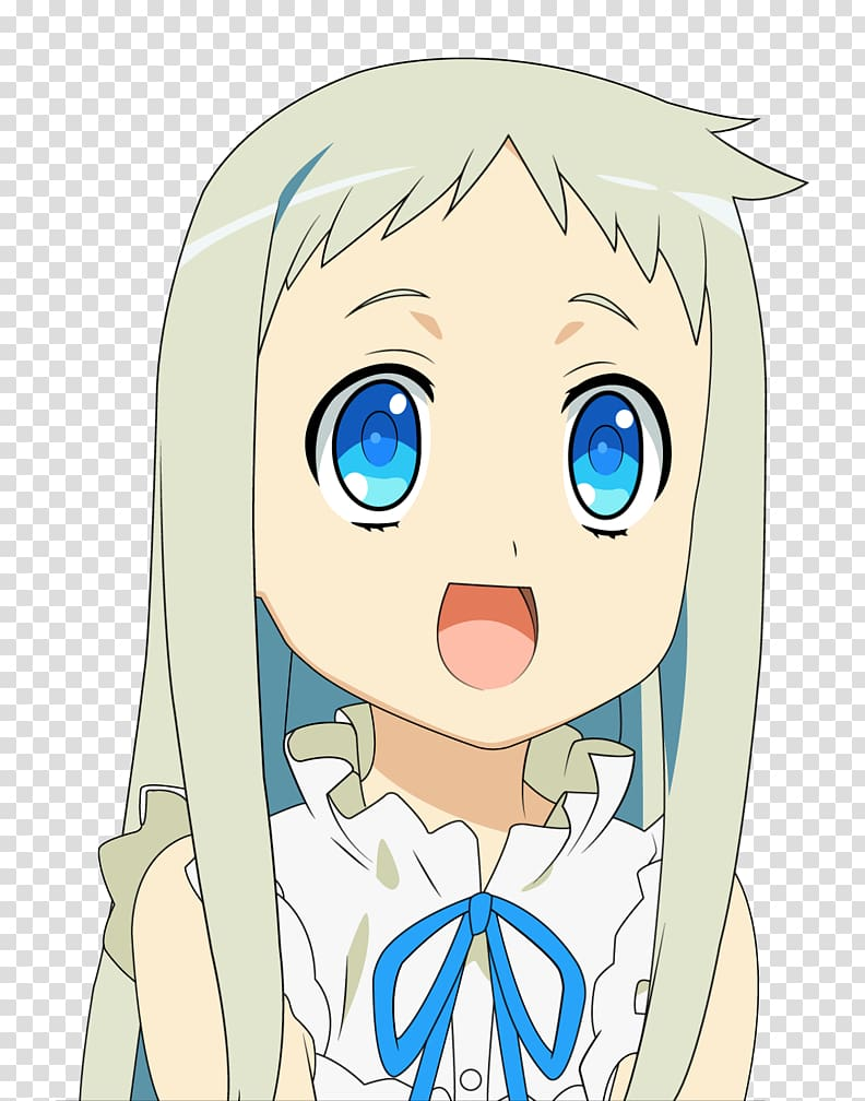 Menma Meiko Honma A 1 Manga Anime others transparent background 792x1008