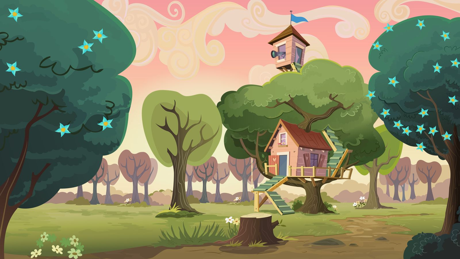 Group Background 10   CMC Clubhouse by MLP Vector Collabs on 1600x900