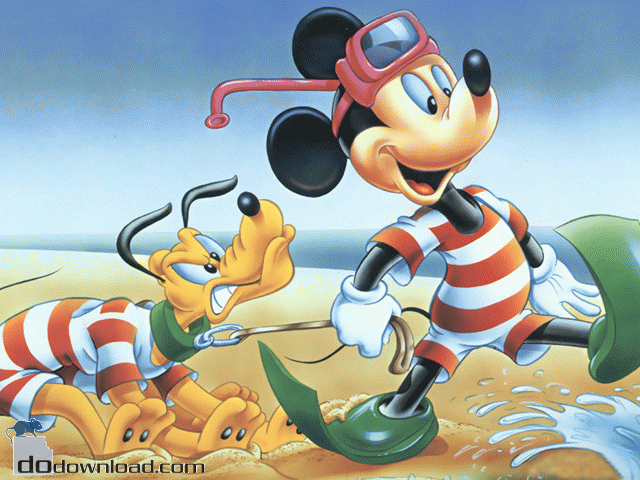 Disney Screensaver image Popular Disney characters on your 640x480