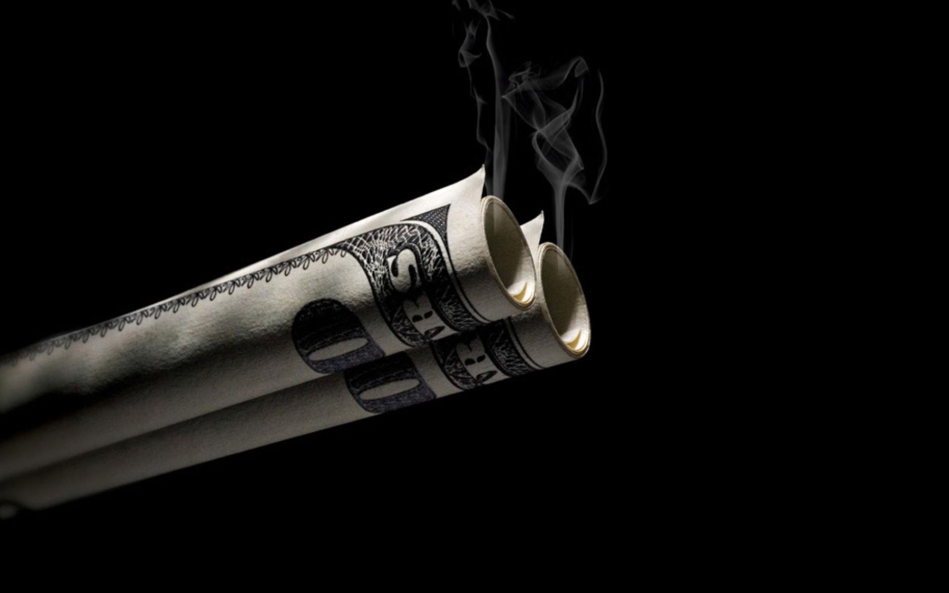 Smoked Money Wallpaper 1920x1200