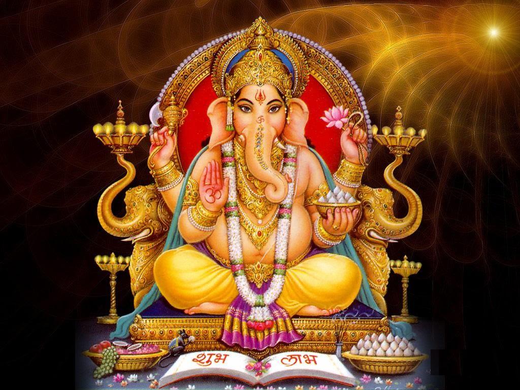 GOD PHOTO IMAGE PICTURE WALLPAPER God Ganesh Photo 1024x768