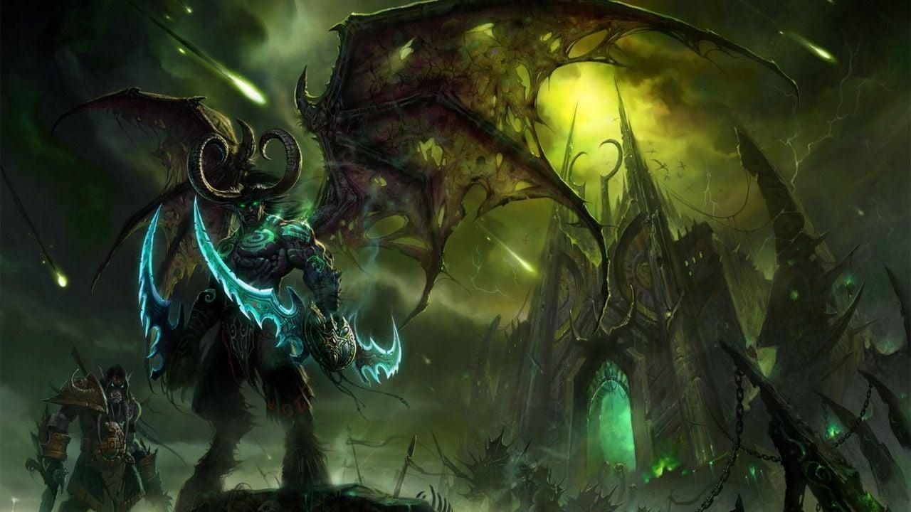 Free Download Demon Hunter World Of Warcraft Legion Rexxar World